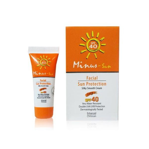 ครีมกันแดด Minus Facial Sun Protection Silky Smooth SPF40