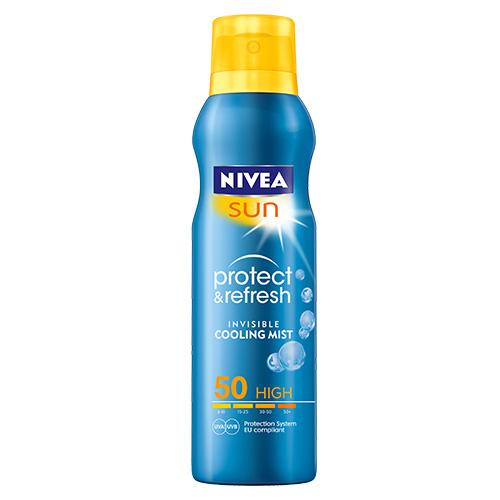 ครีมกันแดด Nivea Sun Spray Protect & Refresh SPF 50