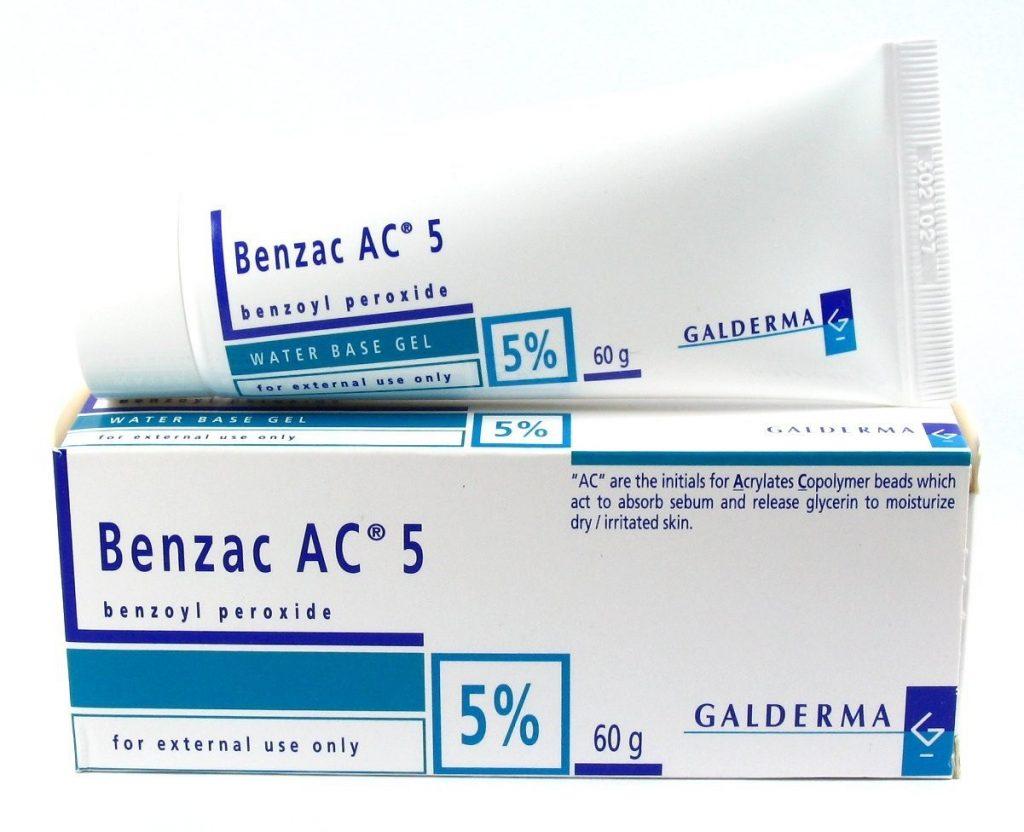ครีมรักษาสิวสูตรเข้มข้น Benzac AC