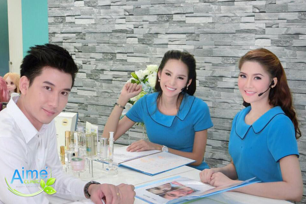 ทําปากกระจับ ศัลยกรรมปาก ที่ Aime Clinic