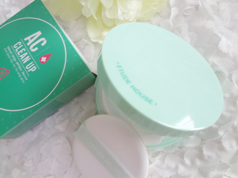 แป้งคุชชั่น Etude House AC Cleanup Mild BB Cushion SPF50+ PA+++