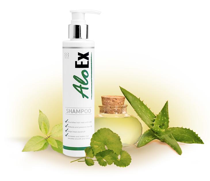 แชมพูแก้ผมร่วง AloEx Hair Re-growth Shampoo