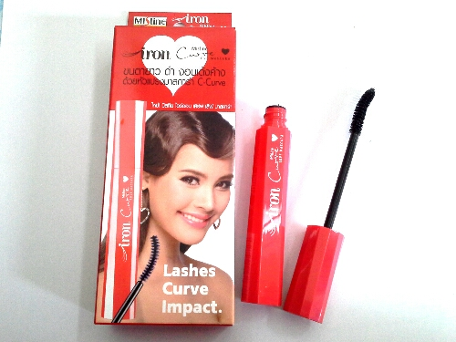มาสคาร่า Mistine Iron Curve love Mascara