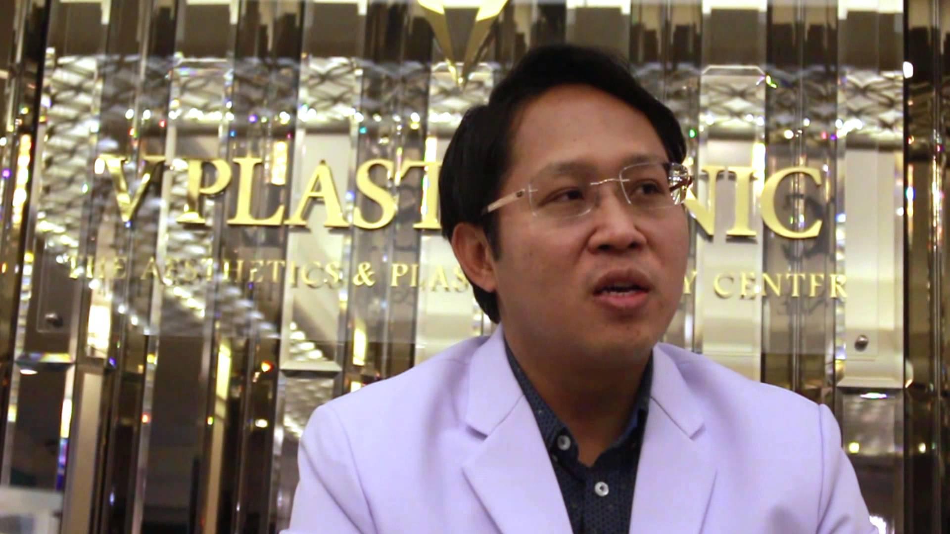 เสริมคาง ที่ V Plast Clinic