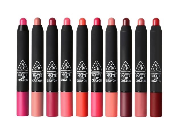 ลิป 3CE MATTE LIP CRAYON-#SPEAK LOW