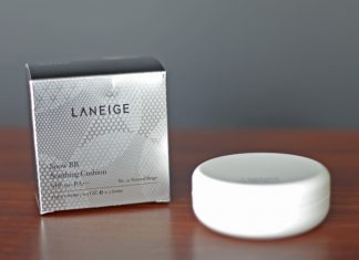 บีบีครีม Laneige Snow BB Soothing Cushion SPF50 PA+++