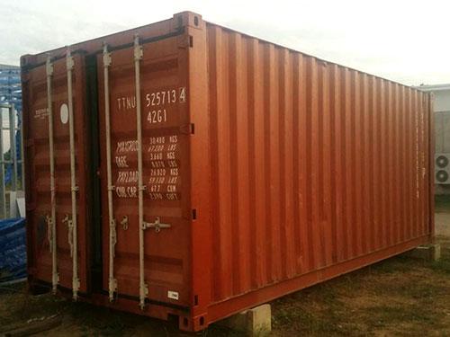 ขายตู้คอนเทนเนอร์มือสอง Thaicontainergroup