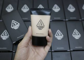ครีมรองพื้น 3CE Stylenanda Back To Baby BB Cream
