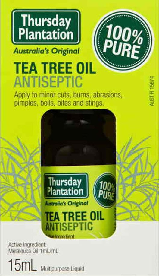 ครีมรักษาสิว TEA TREE OIL