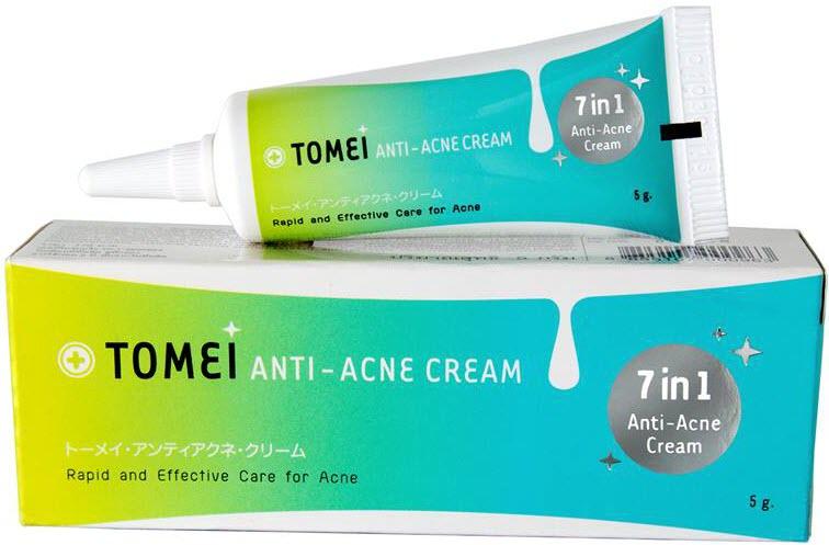 ครีมทาหน้าที่ดีที่สุด Tomei Anti-Acne Cream