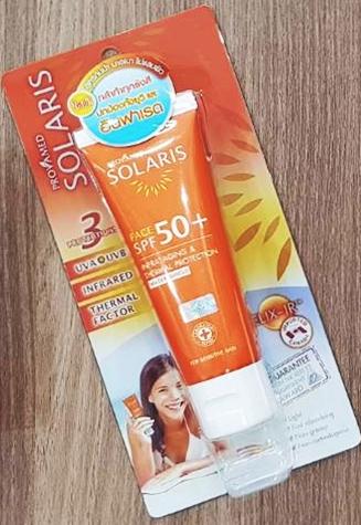 ครีมทาหน้า Provamed Solaris Body SPF 50+ PA+++