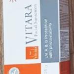 ครีมทาหน้า Vitara Facial sunscreen SPF50+ PA+