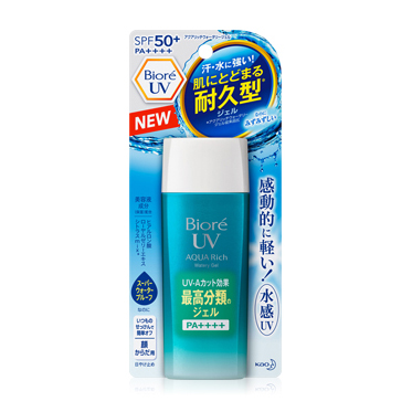 Biore UV Aqua Rich Watery Gel SPF 50 90ml