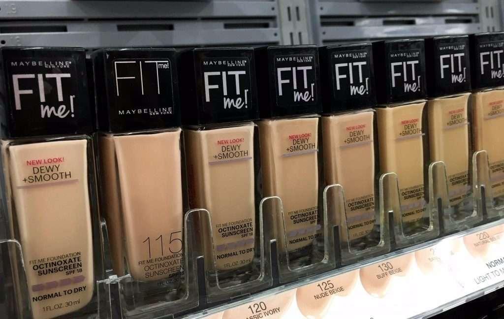 Maybelline Fit Me Matte Foundation