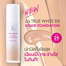 ZA True White Ex Liquid Foundation SPF 25 PA++
