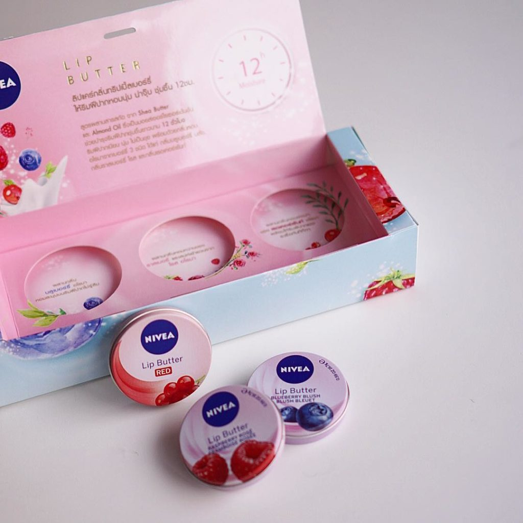 ลิปแคร์ NIVEA Lip Butter Blueberry Blush