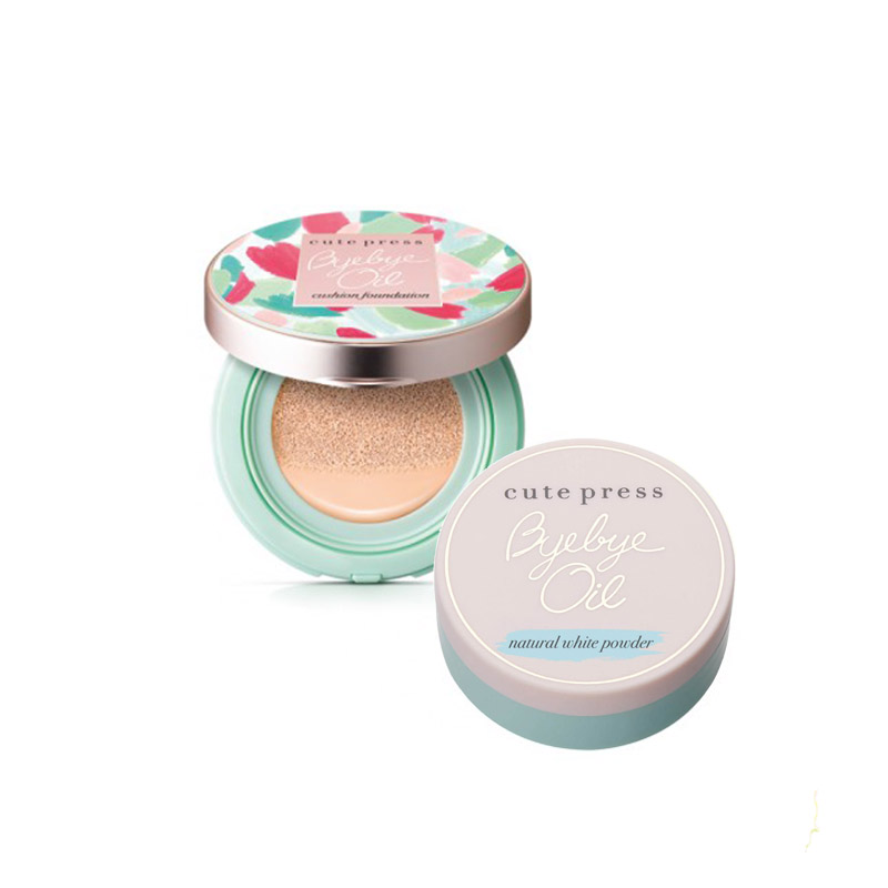 Cute Press Bye Bye Oil Cushion Foundation