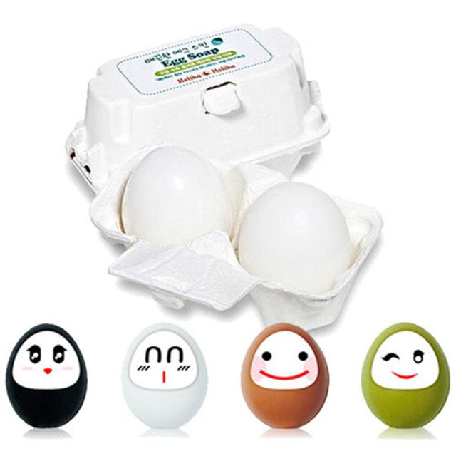 เครื่องสำอางเกาหลี Holika Holika Green Tea Egg Soap
